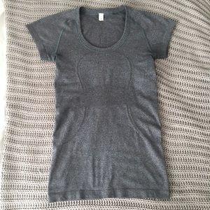 Lululemon Gray Short Sleeve Swiftly Shirt